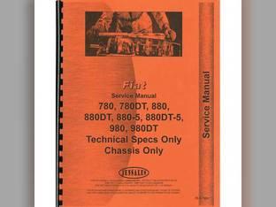 Service Manual - FI-S-780+ Fiat FIAT 880-5 880-5 880 880 980 980 780 780 Hesston 980 980 880 880 880-5 880-5 780 780