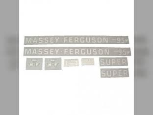 Tractor Decal Set 95 Super Vinyl Massey Ferguson 95