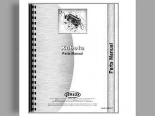 Parts Manual - KU-P-M4700 Kubota M4700