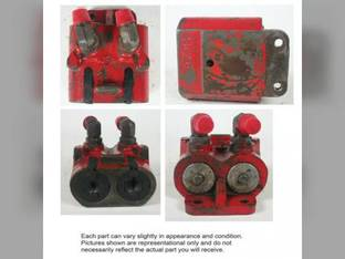 Used Remote Hydraulic Coupler International 5088 3688 5288 6588 7288 7488 6388 3488 5488 3288 6788 3088 1272192C91