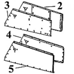Hood Panel - Lower Left Hand Inner