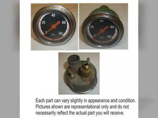 Used Oil Pressure Gauge Oliver 1850 2150 1955 1855 1750 1950 2050 159565A