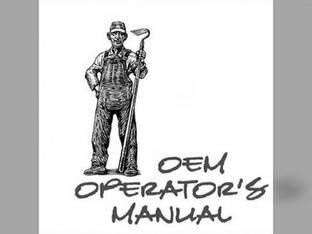 Operator's Manual - KU-O-B1700+ Kubota B2400 B1700 B2100