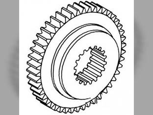 Transmission Gear - 4th Massey Ferguson 235 165 1085 240 265 275 135 285 245 150 390 255 1660095M1