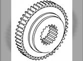 Transmission Gear - 4th Tractor Massey Ferguson 1085 135 150 165 235 240 245 255 265 275 285 390 1660095M1