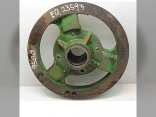 Used Header Drive Electro Magnetic Clutch Pulley John Deere 9400 CTS 9500 SH 9500 9410 9510 CTSII 9600 9510 SH 9610 AH139936