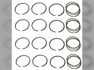 "Piston Ring Set - .030"" Allis Chalmers D15 D12 D10 I40 H3 D14 Oliver Super 55 550 66 660 Super 66 John Deere 24 Case S New Holland L35 Waukesha G155 Wisconsin VG4D"