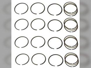 "Piston Ring Set - .030"" Oversize - 4 Cylinder Allis Chalmers H3 I40 D15 D12 D14 D10 149 138 Oliver Super 66 Super 55 660 66 550 Case SI S SC SO John Deere 24 New Holland L35 Waukesha G155 Wisconsin"