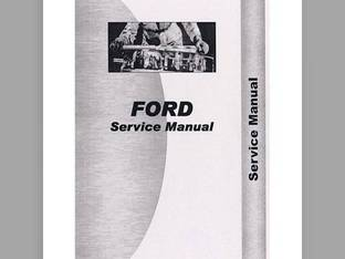 Service Manual - FO-S-1000 1600 Ford 1600 1600 1000 1000
