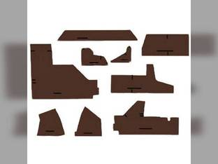 Cab Foam Kit less Headliner Multi-Brown John Deere 4960 4760 4560 4255 4455 4755 4555 4055 4955