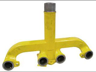 Manifold, Exhaust, 4 Cylinder, Gas