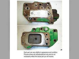 Used Selective Control Valve Cover Plate John Deere 4240 8630 4840 8440 4640 8640 4040 4430 4230 4350 4630 8430 4030 4440 AR73899