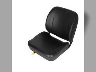 Seat Assembly Vinyl Black John Deere 650 550 450 455 555 Case 85XT 75XT 95XT 90XT JCB 530B