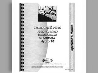 Operator's Manual - IH-O-70 HYDRO Harvester International Hydro 70