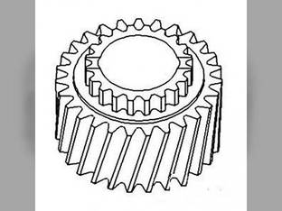 Pinion Shaft Gear - 4th & 8th John Deere 2630 2140 2130 2640 L28665