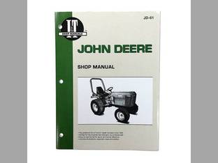 I&T Shop Manual - JD-61 John Deere 655 655 655 756 756 855 855 955 955 856 856 755 755
