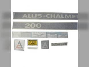 Decal Set 200 Vinyl Allis Chalmers 200