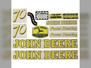 Mylar Decal Set - 70 John Deere 70