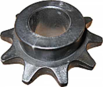 Plastic Idler Sprocket, 10 Tooth
