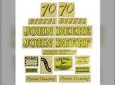 Decal Set John Deere 70