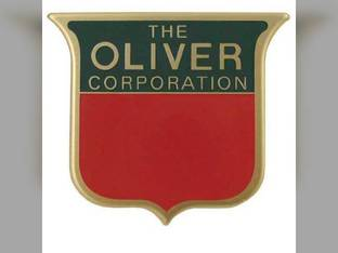 Front Emblem Oliver Super 55 Super 88 Super 77 Super 44 Super 99 Super 66 1M523
