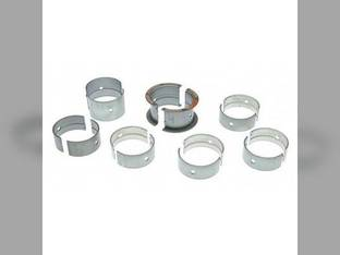"Main Bearings - .010"" Oversize - Set Allis Chalmers D17 D19 WD45 230 262 D19 FL60 FL70 FL80 FL100 FL120 TL10 TL11 TL12 TL14 F60 F70 F80 F100 F120 FD60 FD70 FD80 FD100 FD120 AT100 AT120 FP60 FP70 FP80"
