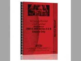Service Manual - IH-S-2400 2500 Harvester International 2500A 2500B 2400B 2400A