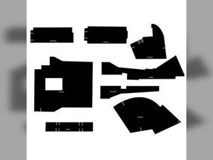 Cab Foam Kit less Headliner Black Allis Chalmers 6060 6080 6070