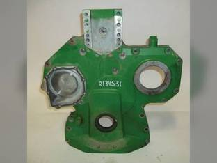 Used Timing Gear Cover John Deere 9400 4045 650G 4045T 1170 3400 455G 6068H 9450 450G 555G 4990 9410 6068 4700 550G 6700 6068T 3200 R134531
