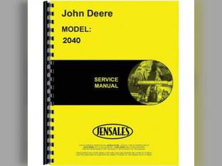 Service Manual - JD-S-TM1221 John Deere 2040 2240