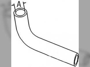 Radiator Hose - Lower Kubota L3750 L5450 L4150 L4850 17381-72850