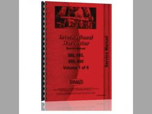 Service Manual - IH-S-585 685+ International Harvester Case IH 585 585