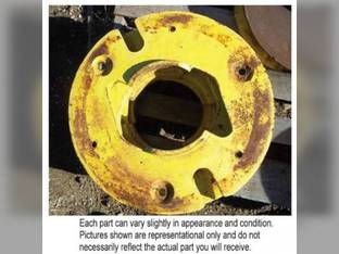 Used Rear Wheel Weight John Deere 2350 2040 4020 2520 4050 2020 2510 4240 3010 2030 4010 4000 4040 4430 2640 3020 4255 2555 4055 4320 4440 4450 2440 2755 4250 2355 8430 4030 4230 4455 2750 2550 1020