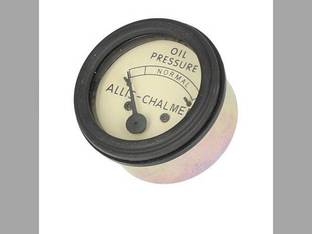 Oil Pressure Gauge - Black Allis Chalmers IB B WC WD WD45 CA WF C G 207834
