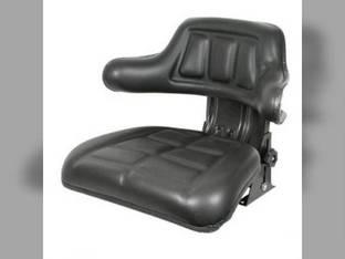 Seat Assembly Grammer Style Vinyl Black Kubota M7950 M8970 M6950 M5950 M4950 M8950 M7970 35420-85010