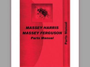 Parts Manual - MH-P-MF205+ Massey Harris/Ferguson Massey Ferguson 205 205