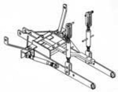 3-Point Hitch Conversion Kit Allis Chalmers CA