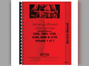 Parts Manual - IH-P-3388+ Harvester International 3388 3588 3788