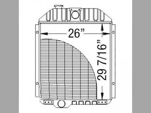 Radiator John Deere 9940 9950 9960 AN190887