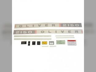 Tractor Decal Set 2150 Diesel Vinyl Oliver 2150