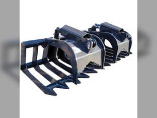 "Stout - Skid Steer Brush Grapple 84"" Width High Strength"