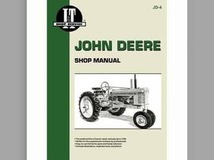 I&T Shop Manual - JD-4 John Deere MT MT M M G G H H D D B B A A