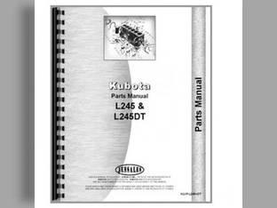 Parts Manual - KU-P-L2250+ Kubota L2550 L2250