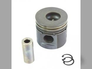 Piston & Pin Assembly Mahindra C4005 450 3525 E40 3325 4505 5005 485 475 3505 C35 C27 E350 575 005554075R91