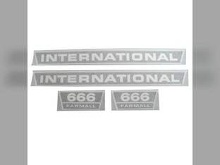 Decal Set International 666