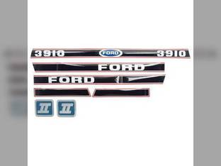 Hood Decal Set - 3910 1986 & Later Ford 3910