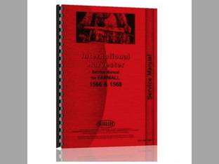 Service Manual - IH-S-1566 1568 Harvester International 1568 1566