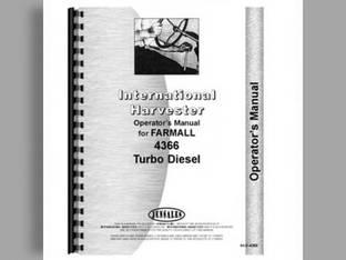 Operator's Manual - 4366 International 4366