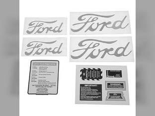 Mylar Decal Set - 8N 1950 to 1952 Ford 8N