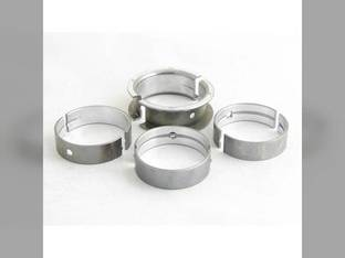 "Main Bearings - .020"" Oversize - Set International 454 2400A D179 484 485 2400B 385 500C 500E 464 D155 Case IH 3220 495 395"